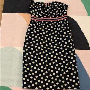 Anthropologie polka dot dress NWT